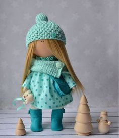 Коллекционные куклы ручной работы. Ярмарка Мастеров - ручная работа. Купить Интерьерная текстильная кукла ручной работы. Handmade.