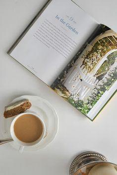 Coffee and garden book