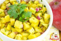 Resep Hidangan Buah Pina Mango Salad, Resep Salad Untuk Diet, Club Masak