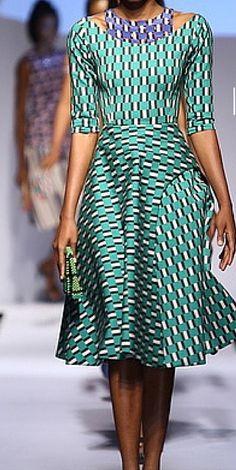 Lisa Folawiyo: Showcasing her Spring/Summer 2015 collection.
