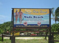 Orient Beach, St. Maarten. Clothing is optional. It was the highlight of Jim's visit to St Maarten