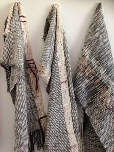 Kate Whitehead Textiles - Hand Woven Shawls Made from Wool, Cotton, String & unwanted yarns.