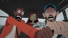 """Nameless World"" by Arthur de Pins Music video directed and animated by Arthur de Pins for Skip The Use, and based on the characters of his own Zombillenium comic book."