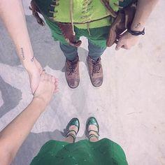 WEBSTA @ erickmafra - Parte 1: Era uma vez um garoto e uma fadinha que juntos acreditavam que podiam levar luz para o mundo. 🌟#PeterPan #tinkerbell