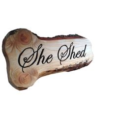 Great handmade wooden signs for your Man Cave or She Shed. Staring at €39,-. Worldwide shipping.