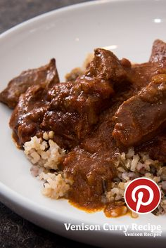 Whitetail deer venison curry recipe. #venison #deer #cooking #curry #spices #wildgame.