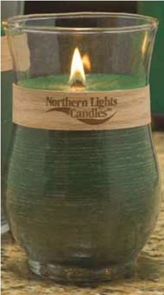 Northern Lights Candles Holiday Woodland Natural Wooden Wick Candle (Fraser  Fir) Northern Lights Candles