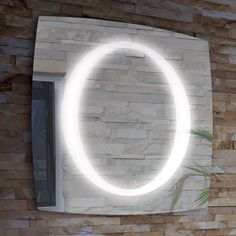 Found it at Wayfair - Trent Lighted LED Mirror Mirror With Led Lights, Led Mirror, Floor Mirror, Illuminated Mirrors, Mirrors Wayfair, Bathroom Lighting, Bathroom Mirrors, All Modern, Modern Furniture