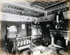 The Bedroom of William Burges - UK, (C19th)