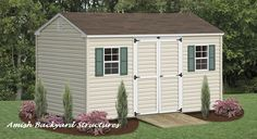 The A-Frame storage shed is one of our most common structures, with a traditional A-Frame roof and easy to customize with additional features.
