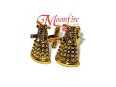 DOCTOR WHO Dalek Robot Cufflinks