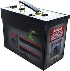 Ghostbusters Metal Ghost Trap Lunch Box