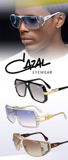 Cazal Eyewear, Legends Collection: 627, 858 and 955 available @metro_optics in the BX!