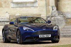 Aston Martin Vanquish Dark Blue