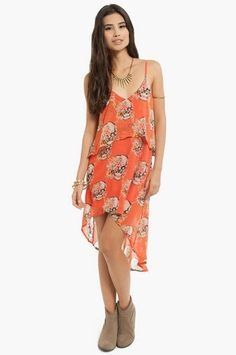 Hallowed Garden Dress $24 at www.tobi.com