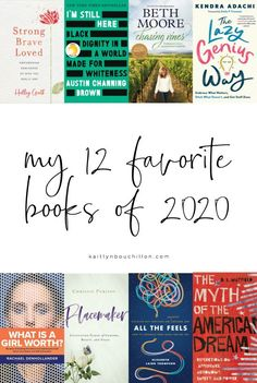 She read EIGHTY books in 2020, then picked her favorite 12. Great list!