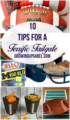 Save time and money with these fun Tailgating Tips! From game day recipes to games to football decorations, throw the best and easiest tailgate ever this football season.
