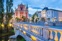 Slovenia  Croatia's been a hot travel destination for a few years now, but don't overlook its charming neighbor to the north. The snowy peaks of the Julian Alps are the dramatic backdrop for Slovenia's storybook Lake Bled, while outdoor restaurants line the riverwalk in the friendly capital city Ljubljana and the sprawling Postojna Cave is a dramatic diversion. (Pro tip: You'll likely save a few dollars by flying into Venice, Italy, rather than Ljubljana ― it's not far over the border.)