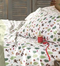 Woodland Wonder Flannel Sheet Sets