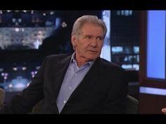 Harrison Ford Won't Answer Star Wars Questions - YouTube