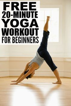 Yoga post on 20-minute yoga workout for complete beginners