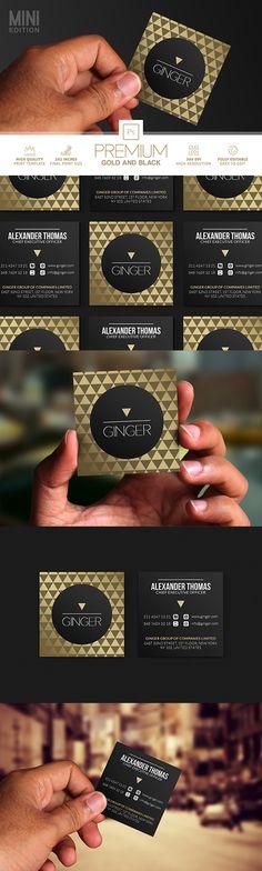 MINI GOLD AND BLACK BUSINESS CARD :   https://creativemarket.com/Marvels/864806-Mini-Gold-And-Black-Business-Card?u=Marvels
