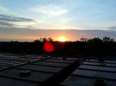 Frac site sunrise