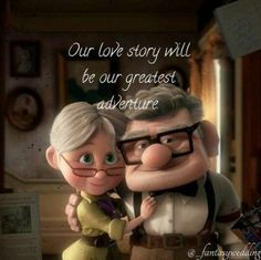 Disney love quotes - Wedding card sayings messages love is trendy ideas wedding Movie Love Quotes, Couples Quotes Love, Cute Love Quotes, Love Quotes For Him, Romantic Quotes, Romantic Good Morning Quotes, Strong Couples, Romantic Images, Up Quotes Disney