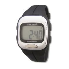 Smart Health Digital Pedometer Heart Rate Watch (Black) >>> Learn more by visiting the image link.