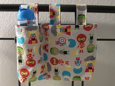 Bunkbed Organizer bags - hold stuffies, books and more up on the top bunk!