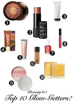 Top 10 Glow Getters for Summer!