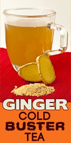 Ginger tea!  Great for colds, but also for a year-round health boost!   http://livingawareness.com/make-ginger-cold-buster-tea/