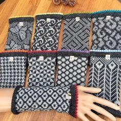 Pulse warmer Gloves Fair Isle hand knitted in pure alpaca wool, grey, customizable Hand cuffs Pulse warmer Gloves Fair Isle hand knitted in pure alpaca wool, grey, customizable Handstulpen Fair Isle Alpaca Pulswärmer Armstulpen Knit Mittens, Knitted Gloves, Knitting Socks, Hand Knitting, Motif Fair Isle, Fair Isle Pattern, Wrist Warmers, Hand Warmers, Knitting Charts