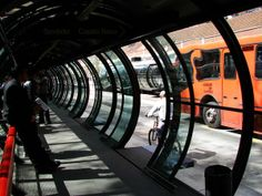 Curitiba is recognized for having the best urban transportation system in Brazil.