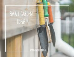 These ideas for small gardens and balconies help you make the most out of your small space garden. Small Space Gardening, Small Gardens, Simple Living Blog, Small Spaces, Garden Ideas, How To Make, Little Gardens, Landscaping Ideas, Backyard Ideas