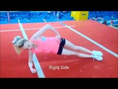 20 Best Conditioning Exercises For Tumblers & Cheerleaders - YouTube