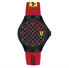Zegarek Ferrari F1 PIT CREW 38MM | FERRARI WATCH | Fbutik | Scuderia Ferrari Collection