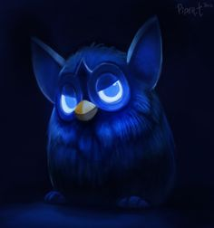 DAY 36. Furby... (35 Minutes) by Cryptid-Creations.deviantart.com on @DeviantArt
