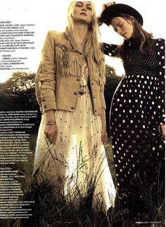 You magazine#mail on Sunday#fringed suede jacket from www.jessiewestern.com also fringed beaded pouch from www.jessiewestern.com