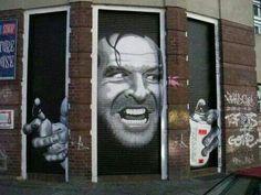 Cuckoo street art.