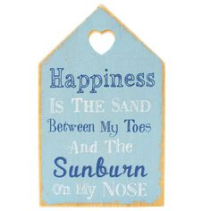 Wholesale Happiness is nautical plaque - Something Different