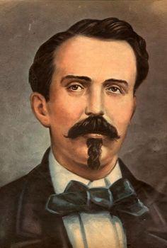 """Carlos Manuel de Cespedes - Cuba – Wikipédia, a enciclopédia livre > Carlos Manuel de Céspedes é conhecido como """"Pai da Pátria"""" em Cuba, tendo declarado a independência do país da Espanha em 1868."""