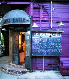 Le Bon Temps Roule (4801 Magazine St.,� 504/895-8117) is the place to hear up-and-coming bands and nab reasonably priced beer and elaborately garnished bloody marys. (From: Insider Secrets of New Orleans!)