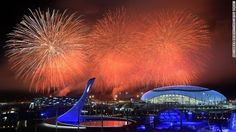 #Sochi2014 #ClosingCeremonies XXII Olympic Winter Games. Olympic torch extinguished in Sochi. 2/23/14