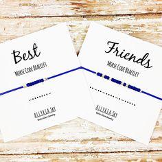 Best Friends Morse Code Bracelet Set Best Friend Bracelets