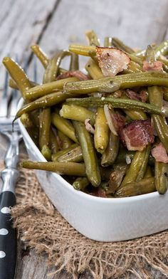 Weight Watchers Slow Cooker Green Beans, Ham and Potatoes Recipe - 6 Smart Points