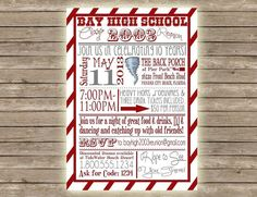 Items similar to Modern & Fun High School Typography Class Reunion Invitation on Etsy Printable Invitation Templates, Invitation Card Design, Custom Invitations, Invitation Ideas, Invitation Cards, Class Reunion Invitations, Birthday Party Invitation Wording, Groomsmen Invitation, Business Invitation