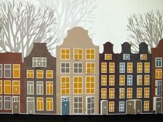 Amsterdam Advent Calendar by nouveaudesigns on Etsy