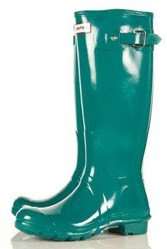 Jade Rain Boots!