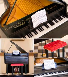 Our long awaited Piano Cake Course is here - Learn step by step from renowned cake decorator Paul Bradford and make your very own Piano Cake #cakedecorating